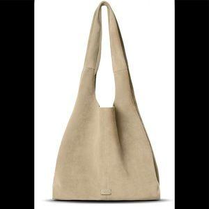 Shinola Market Suede Hobo Bag